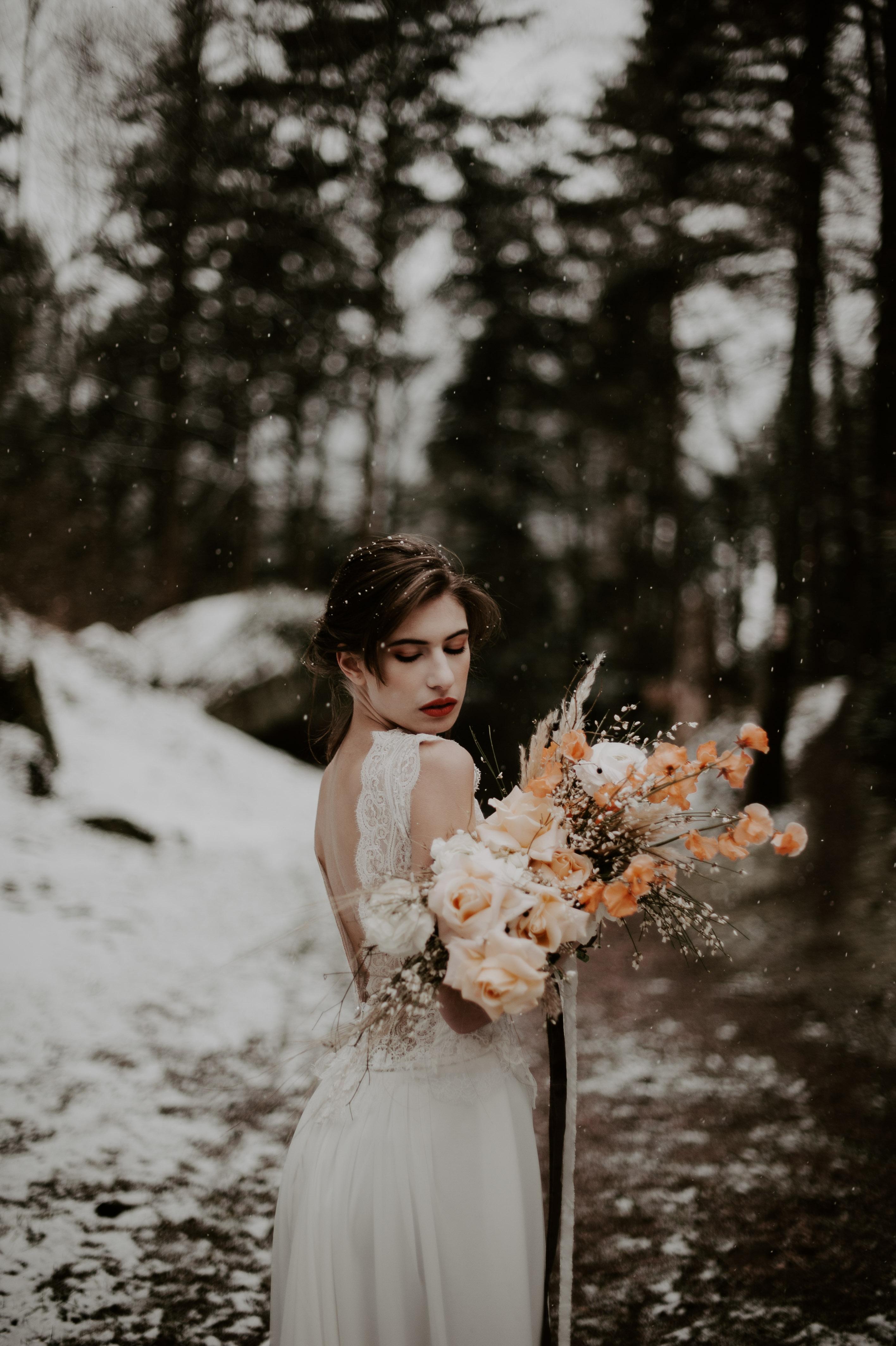 Lea & Quentin, un mariage hivernale